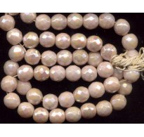 VINTAGE CREAMY LUSTER BEADS