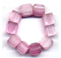 VINTAGE WEST GERMAN 5 SIDED PINKS