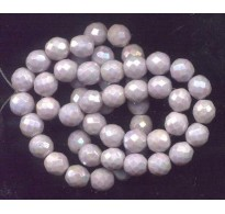 PALE LILAC VINTAGE LUSTER BEADS