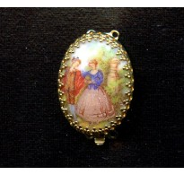 LOVELY  VINTAGE TWO STRAND CLASP
