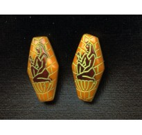 EGYPTIAN REVIVALGOLDENROD BEADS