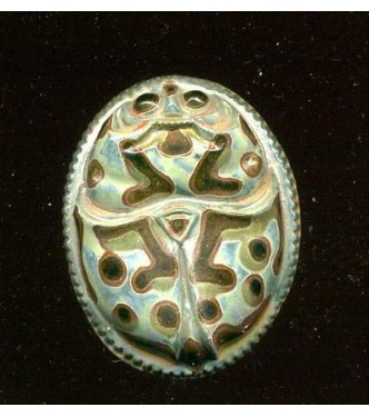 VINTAGE CZECH EGYPTIAN REVIVAL SCARAB